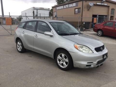 2004 Toyota Matrix for sale at Sanders Auto Sales in Lincoln NE