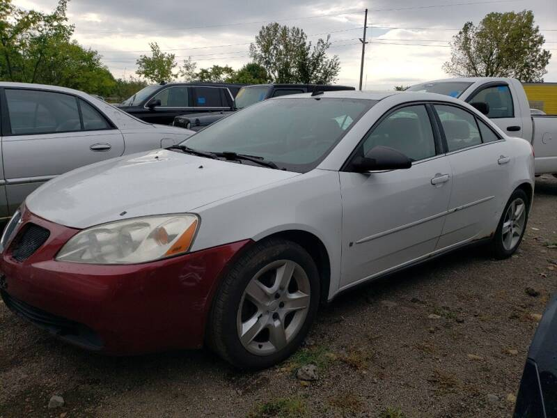 2009 Pontiac G6 for sale at COLONIAL AUTO SALES in North Lima OH