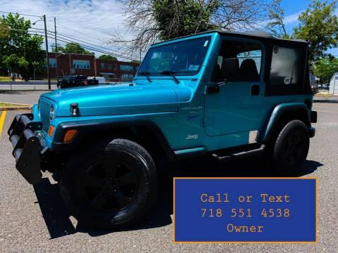 1997 Jeep Wrangler for sale at Ultimate Motors in Port Monmouth NJ