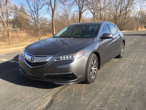 2017 Acura TLX for sale at ONG Auto in Farmington MN