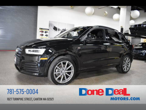 2017 Audi Q3 for sale at DONE DEAL MOTORS in Canton MA