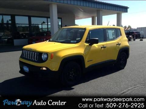 2016 Jeep Renegade for sale at PARKWAY AUTO CENTER AND RV in Deer Park WA