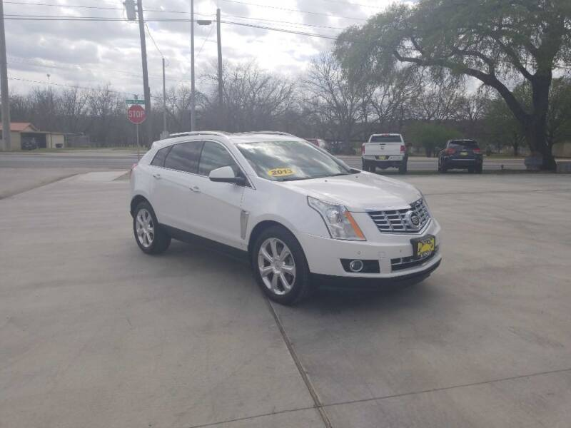 2013 Cadillac SRX for sale at Bostick's Auto & Truck Sales in Brownwood TX