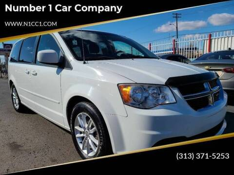 2013 Dodge Grand Caravan for sale at Number 1 Car Company in Detroit MI