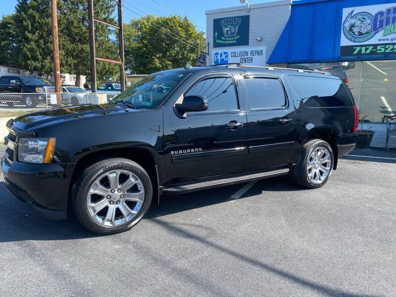2012 Chevrolet Suburban for sale at Ginters Auto Sales in Camp Hill PA