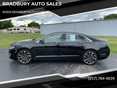 2020 Lincoln MKZ for sale at BRADBURY AUTO SALES in Gibson City IL