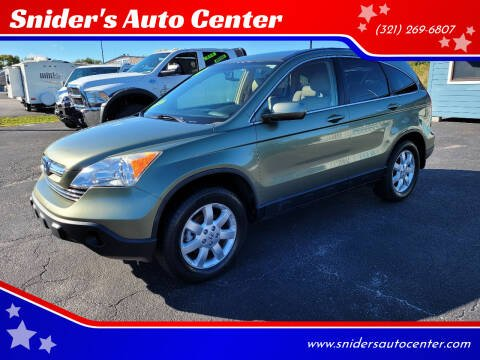 2008 Honda CR-V for sale at Snider's Auto Center in Titusville FL