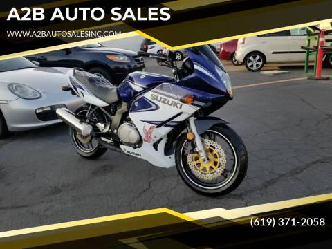 2005 Suzuki GS500F for sale at A2B AUTO SALES in Chula Vista CA