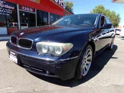 2005 BMW 7 Series for sale at Phantom Motors in Livermore CA