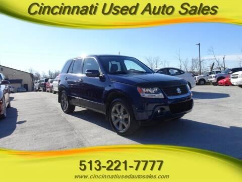 2012 Suzuki Grand Vitara for sale at Cincinnati Used Auto Sales in Cincinnati OH