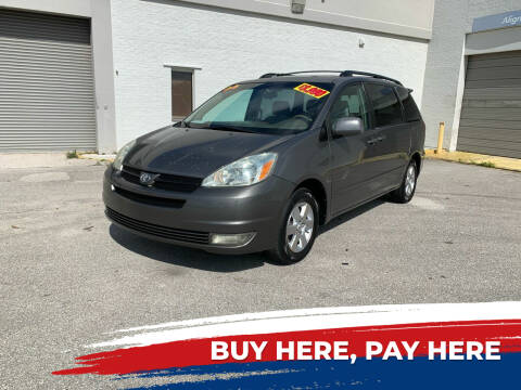 2004 Toyota Sienna for sale at Mid City Motors Auto Sales - Mid City South in Fort Myers FL