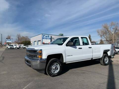 2018 Chevrolet Silverado 2500HD for sale at P & R Auto Sales in Pocatello ID
