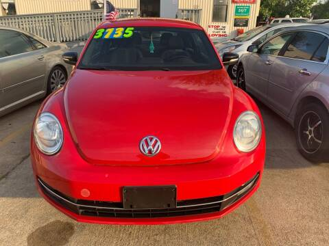 2012 Volkswagen Beetle for sale at 1st Stop Auto in Houston TX
