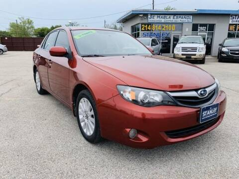 2010 Subaru Impreza for sale at Stanley Automotive Finance Enterprise - STANLEY DIRECT AUTO in Mesquite TX