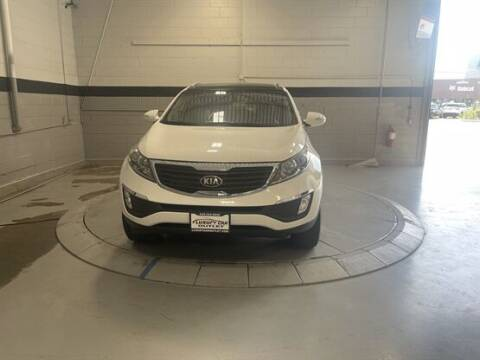 2013 Kia Sportage for sale at Luxury Car Outlet in West Chicago IL