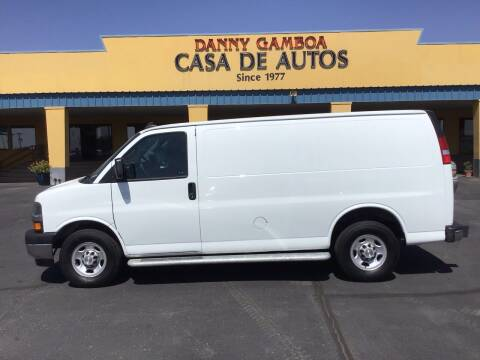 2020 Chevrolet Express Cargo for sale at CASA DE AUTOS, INC in Las Cruces NM