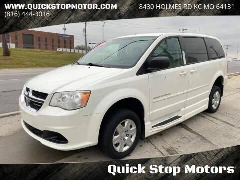 2012 Dodge Grand Caravan for sale at Quick Stop Motors in Kansas City MO