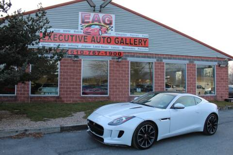 2016 Jaguar F-TYPE for sale at EXECUTIVE AUTO GALLERY INC in Walnutport PA