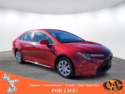 2020 Toyota Corolla for sale at VA Cars Inc in Richmond VA