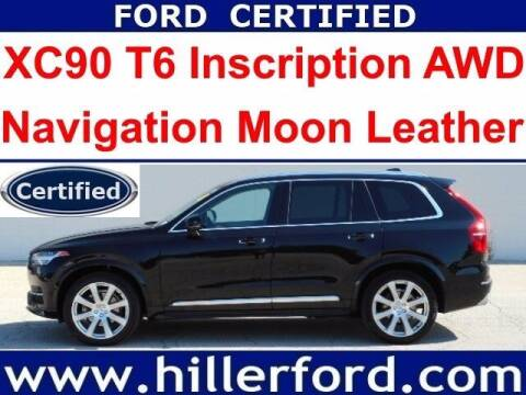 2019 Volvo XC90 for sale at HILLER FORD INC in Franklin WI