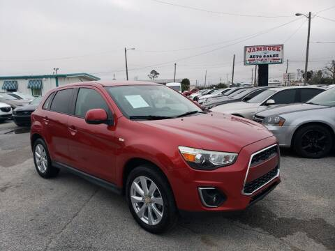 2013 Mitsubishi Outlander Sport for sale at Jamrock Auto Sales of Panama City in Panama City FL