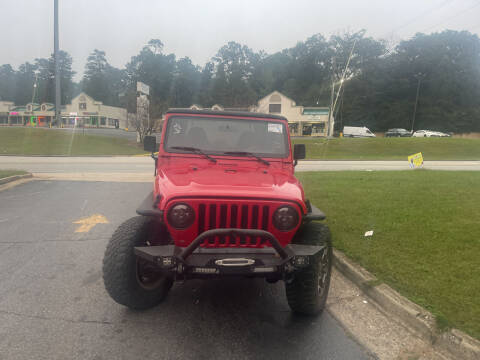 2002 Jeep Wrangler for sale at BRAVA AUTO BROKERS LLC in Clarkston GA