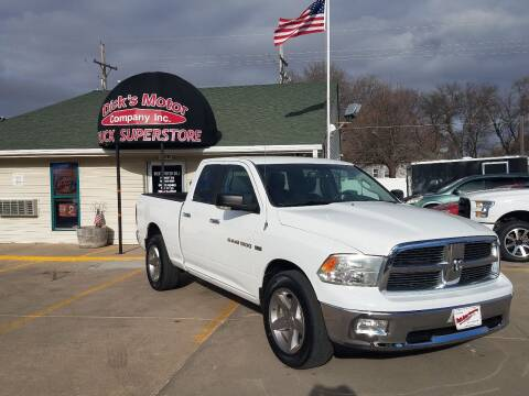 2012 RAM Ram Pickup 1500 for sale at DICK'S MOTOR CO INC in Grand Island NE