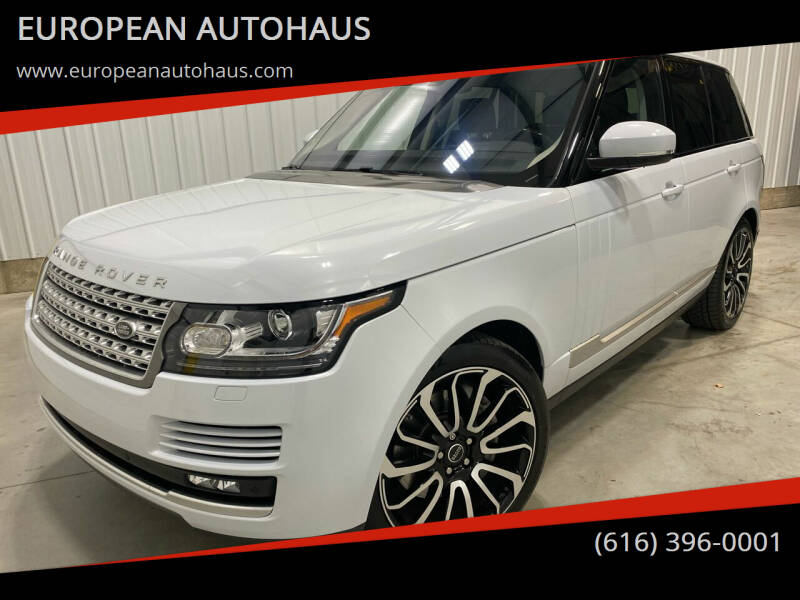 2017 Land Rover Range Rover for sale at EUROPEAN AUTOHAUS in Holland MI