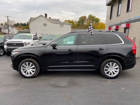 2018 Volvo XC90 for sale at Sisson Pre-Owned in Uniontown PA