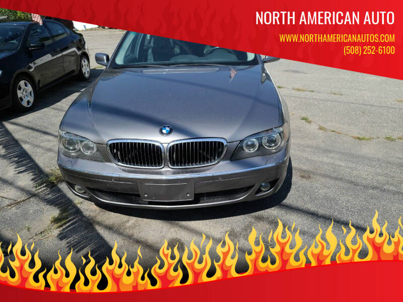 2008 BMW 7 Series for sale at North American Auto in Rehoboth MA