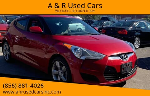 2013 Hyundai Veloster for sale at A & R Used Cars in Clayton NJ