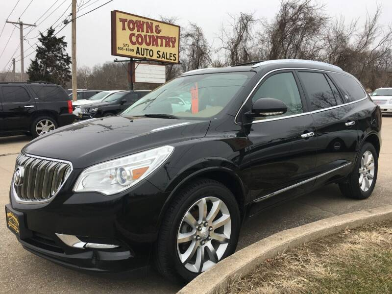 2016 Buick Enclave for sale at Town and Country Auto Sales in Jefferson City MO