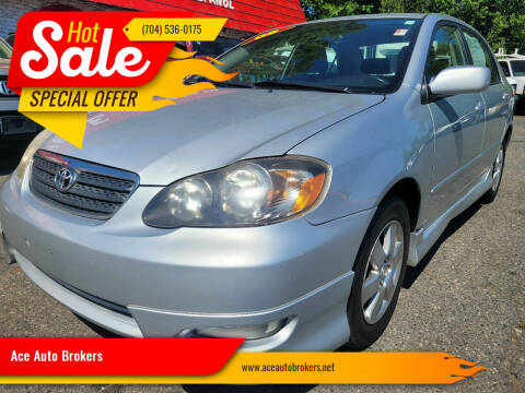 2006 Toyota Corolla for sale at Ace Auto Brokers in Charlotte NC