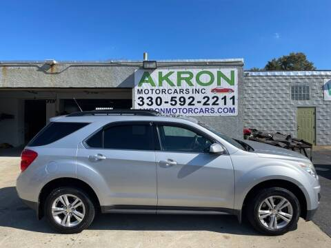 2012 Chevrolet Equinox for sale at Akron Motorcars Inc. in Akron OH