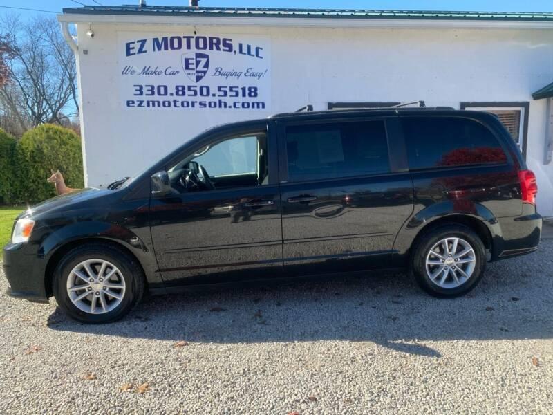 2013 Dodge Grand Caravan for sale at EZ Motors in Deerfield OH