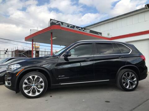 2014 BMW X5 for sale at FAST LANE AUTO SALES in San Antonio TX