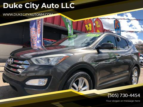 2013 Hyundai Santa Fe Sport for sale at Duke City Auto LLC in Gallup NM