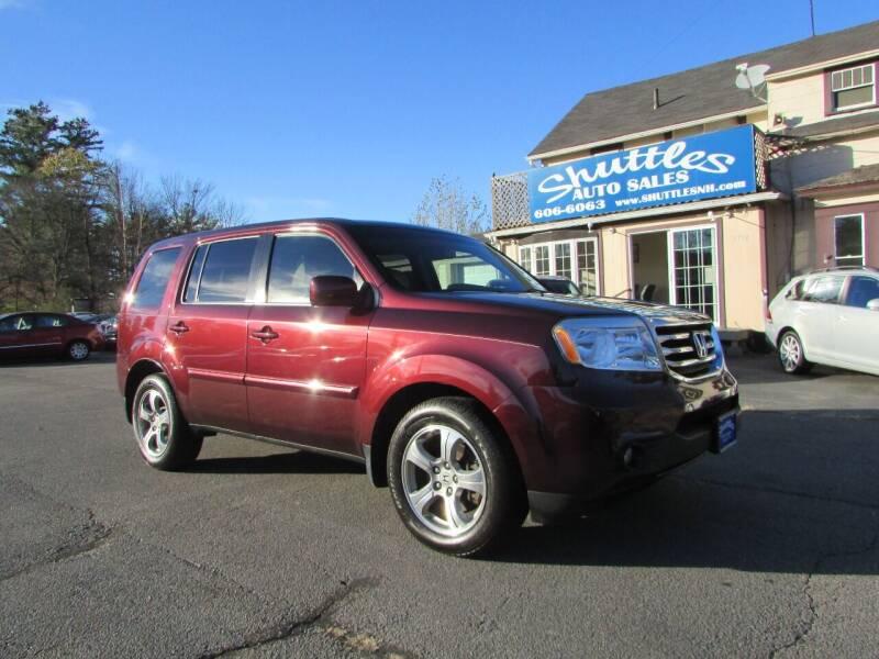 2013 Honda Pilot for sale at Shuttles Auto Sales LLC in Hooksett NH