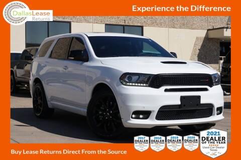 2019 Dodge Durango for sale at Dallas Auto Finance in Dallas TX