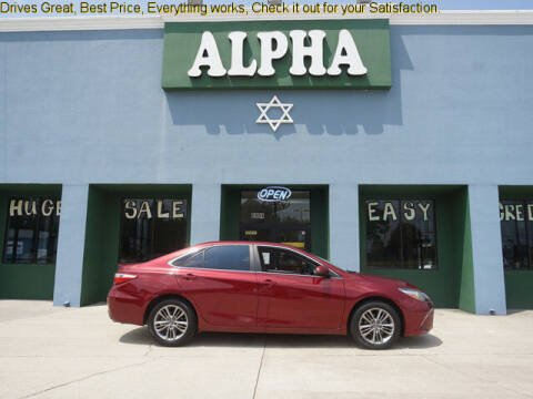 2017 Toyota Camry for sale at ALPHA AUTOMOBILE SALES, LLC in Lafayette LA