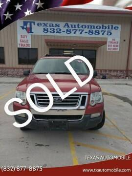 2007 Ford Explorer Sport Trac for sale at TEXAS AUTOMOBILE in Houston TX