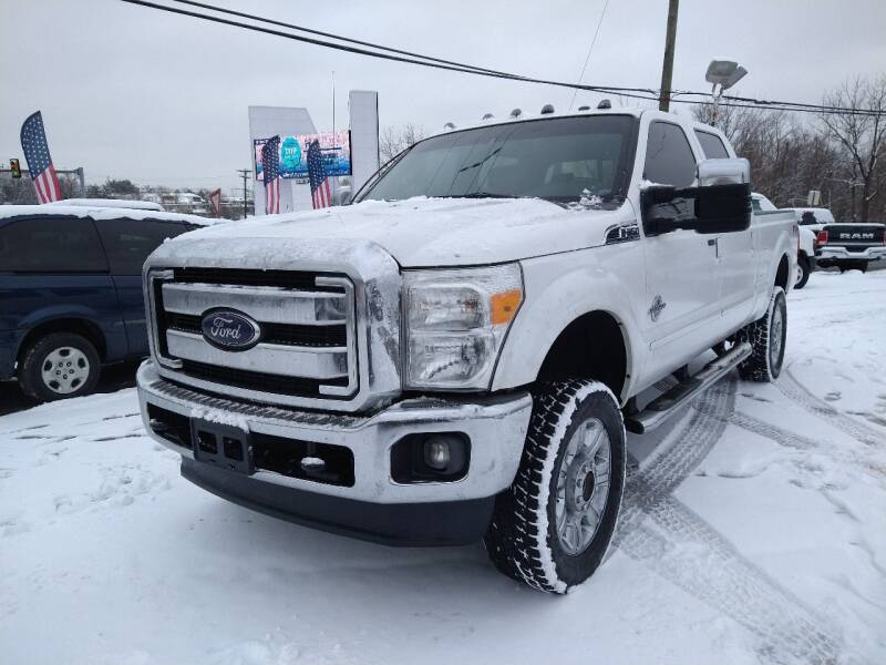 2012 Ford F-350 Super Duty for sale at P J McCafferty Inc in Langhorne PA
