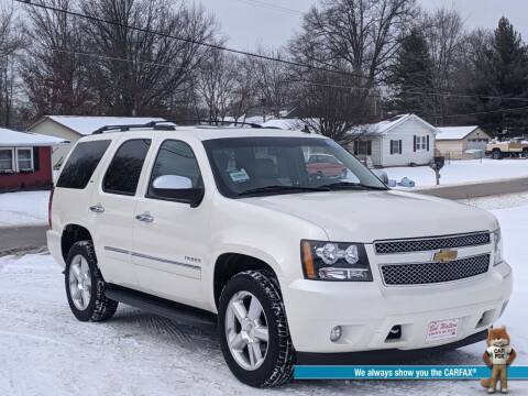 2013 Chevrolet Tahoe for sale at Bob Walters Linton Motors in Linton IN