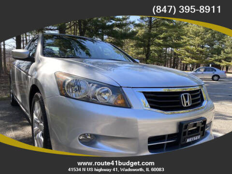 2010 Honda Accord for sale at Route 41 Budget Auto in Wadsworth IL