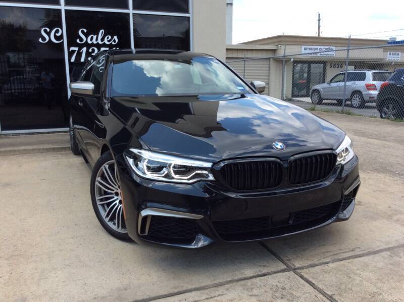 2018 BMW 5 Series for sale at SC SALES INC in Houston TX
