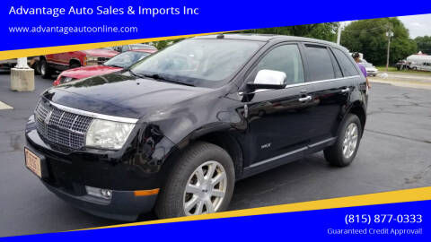 2009 Lincoln MKX for sale at Advantage Auto Sales & Imports Inc in Loves Park IL