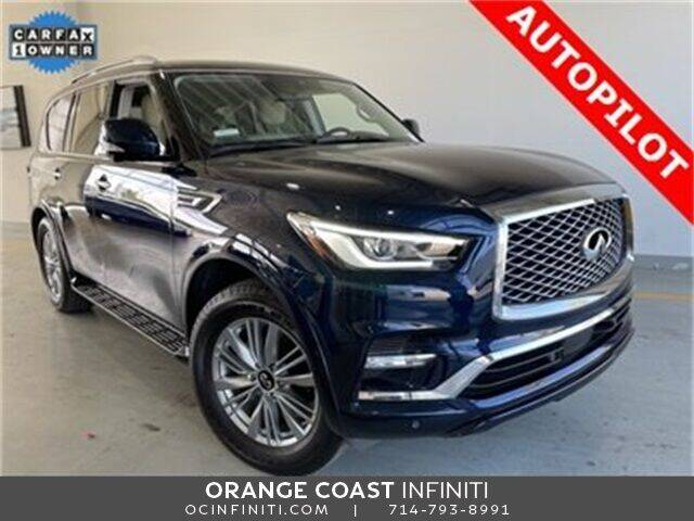 2020 Infiniti QX80 for sale at ORANGE COAST CARS in Westminster CA