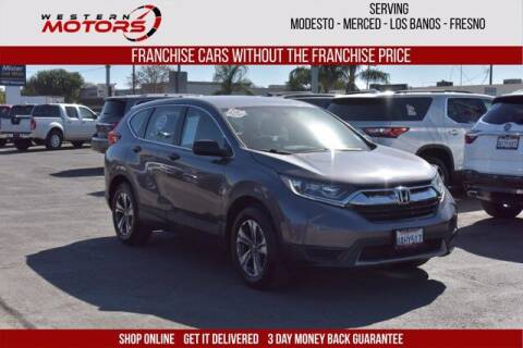 2017 Honda CR-V for sale at Choice Motors in Merced CA