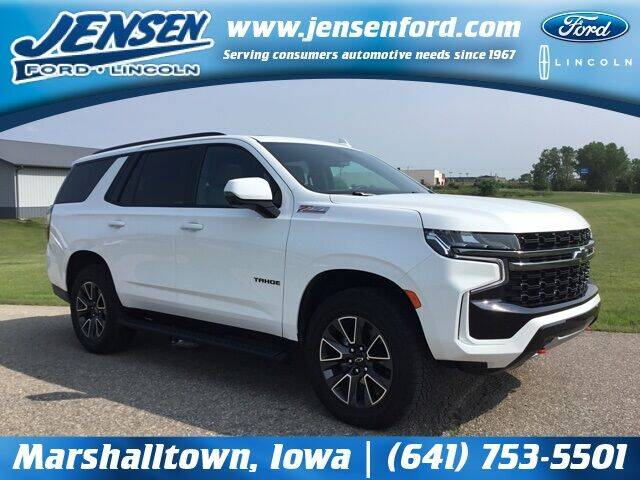 2021 Chevrolet Tahoe for sale at JENSEN FORD LINCOLN MERCURY in Marshalltown IA