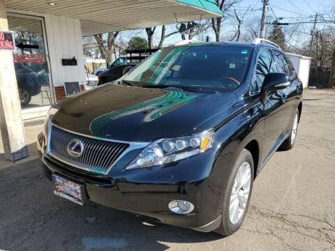 2010 Lexus RX 450h for sale at New Wheels in Glendale Heights IL